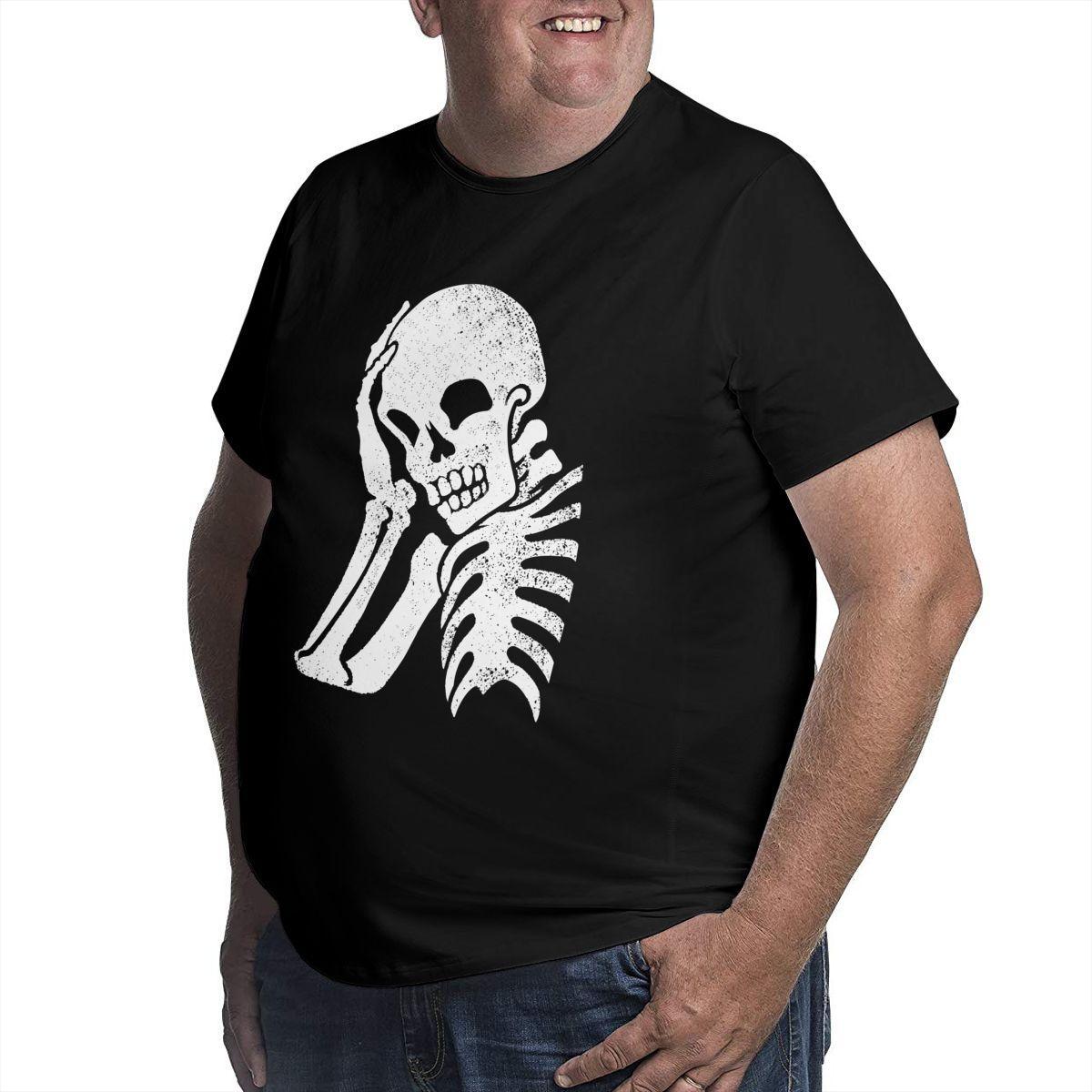 남자 플러스 사이즈 T 셔츠 2021 남자 옷을위한 좋은 품질의 코튼 티셔츠 티 셔츠 셔츠