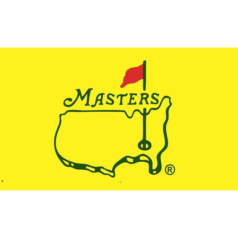 Masters Pin Flag 3x5 FT Banner 100D 150x90 см Полиэстер Латунь Пророка на заказ Печатный флаг, HHD5967