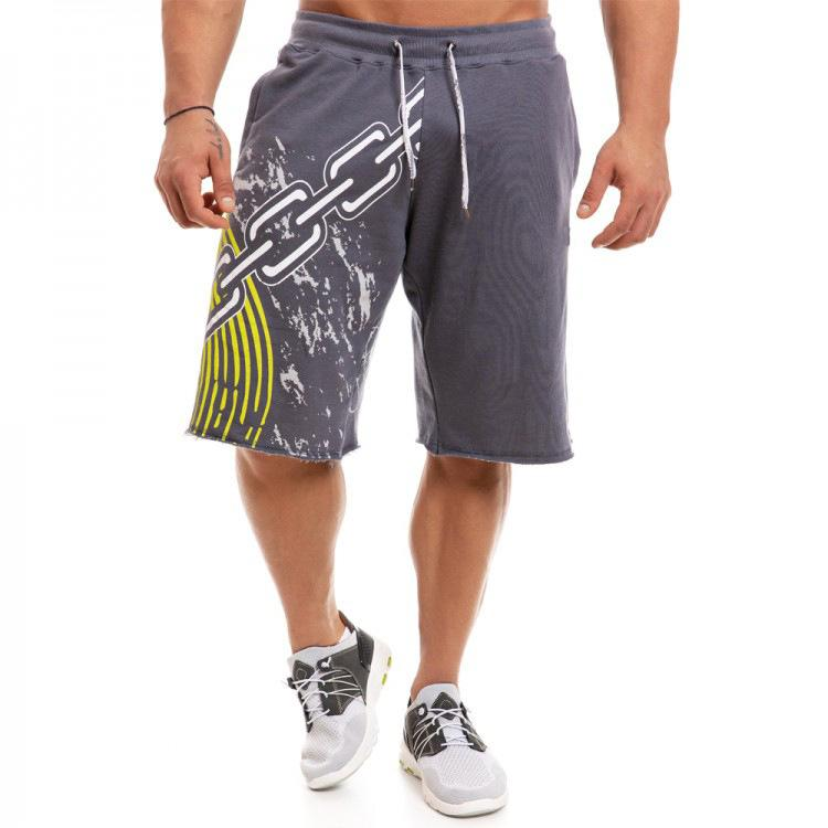 2021 Summer New Men Sport Jogging Fitness Fitness Allenamento Allenamento Allentato Pantaloncini da uomo Bodybuilding Pantaloni corti M-3XL