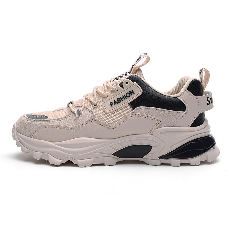 Mens Summit Running Shoes White Black Nylon Wolf Grey platform Women men trainers Sports Sneakers walking jogging Chaussures QP15