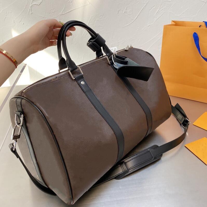 رجل المرأة الفضلات مصممي أكياس 2021 مصمم حقائب رياضية في الهواء الطلق القماش الخشن أكياس كبيرة dapacity أعلى جودة حقيبة السفر