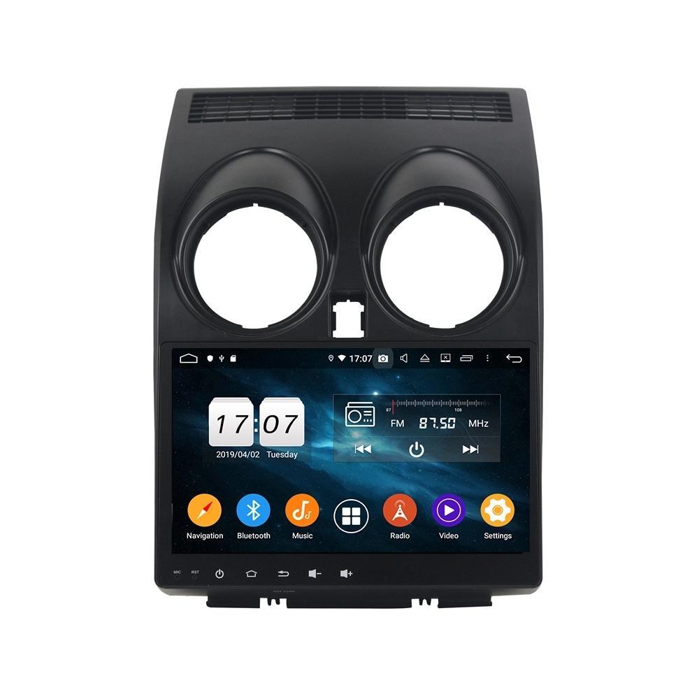 """4GB + 128gb 2 DIN 9 """"PX6 Android 10 Voiture DVD Lecteur de DVD pour Nissan Qashqai 2003 2004-2013 DSP Radio GPS Navigation Bluetooth 5.0 WiFi Vidéo Head Multimedia"""