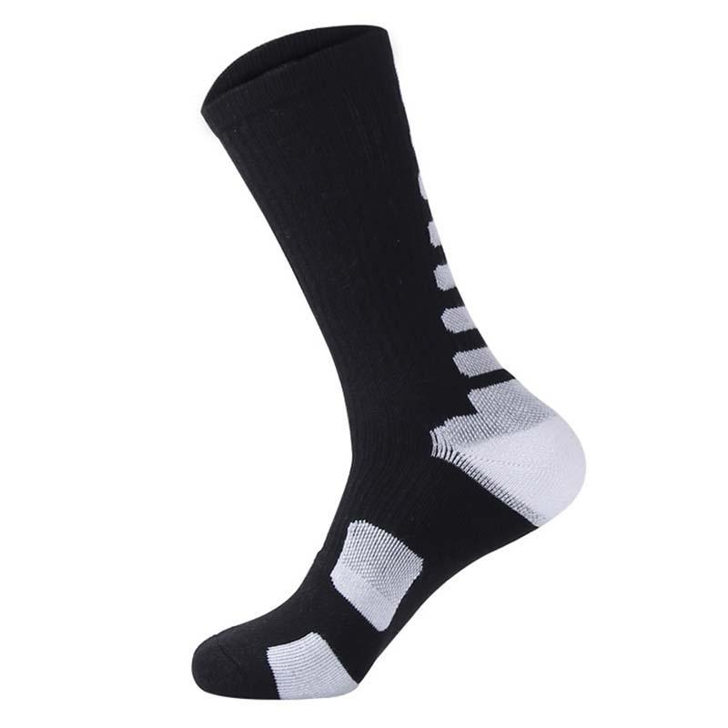 Sports Socks Cycling Knee-High Professional Bicycle Compression Stocking Breathable Outdoor Sport Footwear Protect Running BC0226
