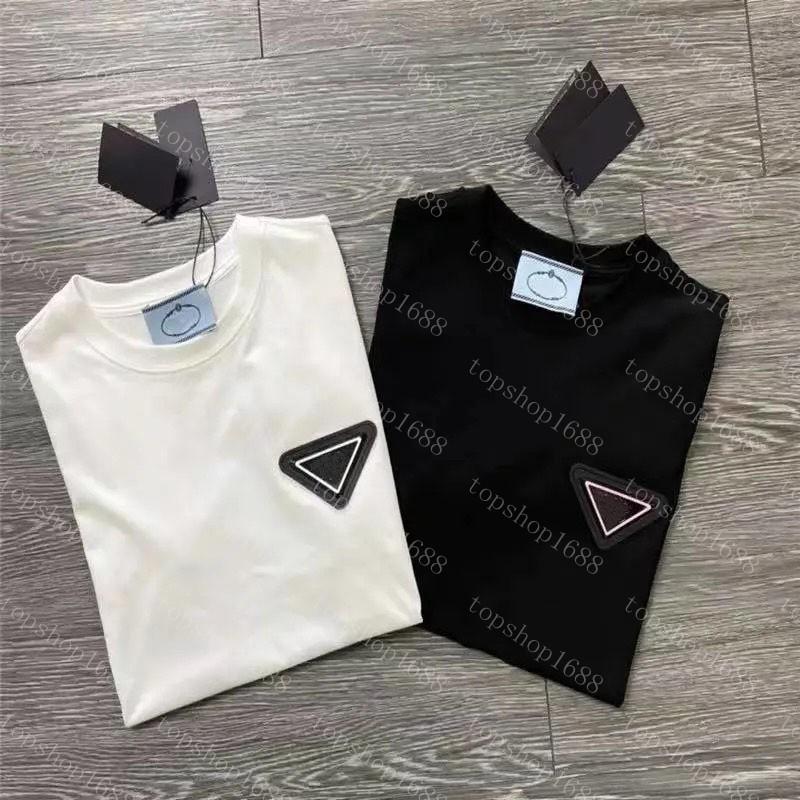 2021 Erkek Moda T Gömlek Tasarımcılar Erkekler Giyim Siyah Beyaz Tees Kısa Kollu kadın Rahat Hip Hop Streetwear Tişörtleri