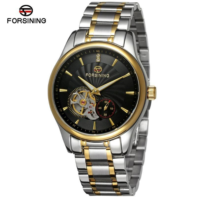 Montres-bracelets Formant de la haute qualité Bracelet en acier inoxydable de luxe de haute qualité Chine Montres pour hommes automatiques