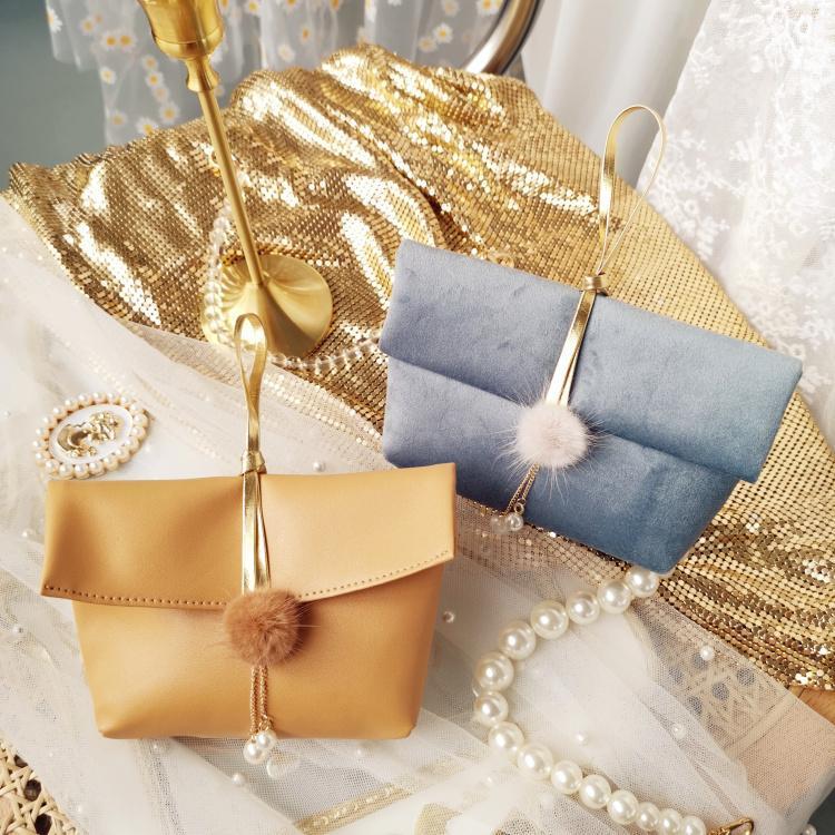 10pcs/lot Arrive Velvet/PU Wedding Christmas Party Jewelry Packing Pouche Candy Box Portable Folding Free Lipstick Gift Wrap