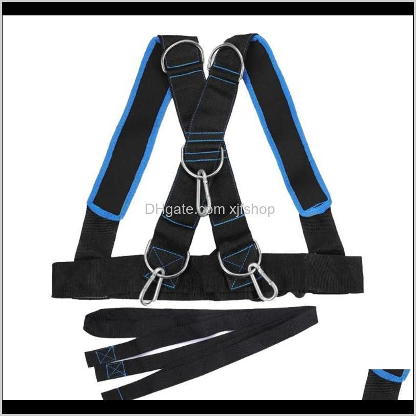 Integrated Equip Strength Training Sled Shoulder Harness Home Fitness Weight Bearing Vest Edf88 Gpuzj Lsw1B