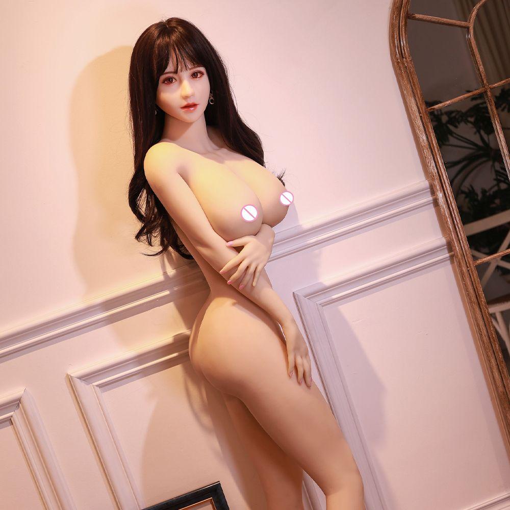 168cm TPE Prefect Prefect Sex Sex Poupées Real Véritable Véritable Récol Anal Grands Brobes Adulte Jouet Adulte Anime Poupée Sexe Pour Hommes TPE Taille de vie Poupée d'amour