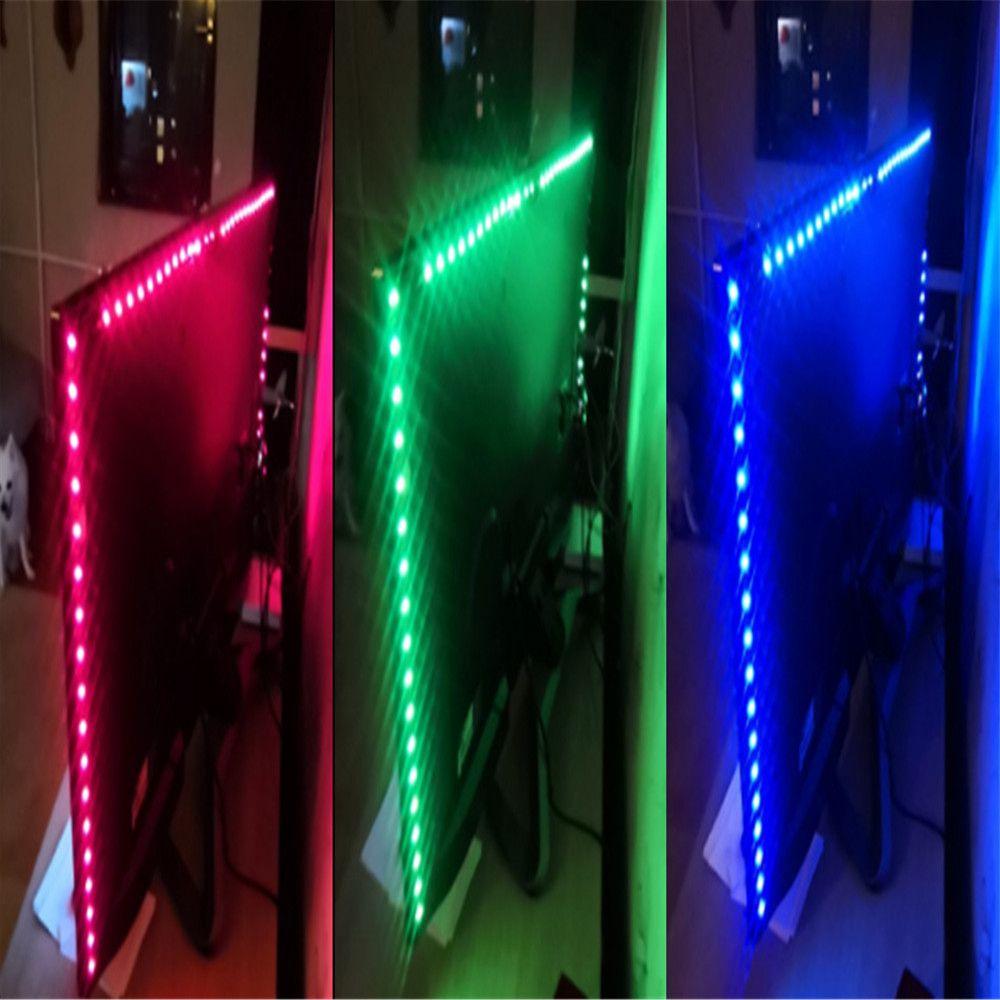 TOP Mini TV LED Strips 3 button 24 DC5V 2835SMD light with desktop decorative background lighting