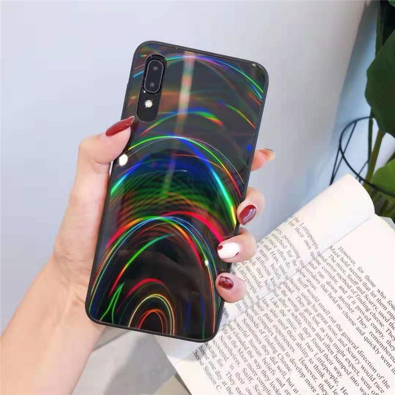 Arcobaleno modello Telefono Casi TPU + PC + Acrilico Custodia per telefoni cellulari Custodia per Samsung A52 A72 S20 S20ULTRA S20FE S21 S21plus S21ULtra iPhone 13 12 Mini 11 Pro Max X XR