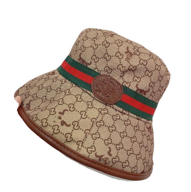 브랜드 패션 양동이 모자 모자 헤어 액세서리 비니 남자 여자 거리 casquette 모자 최고 품질의 편지 빈티지 어 부 캡