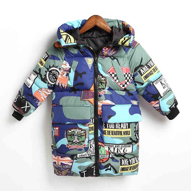 Niños niños chaquetas abrigo de cálido para ropa exterior con capucha ropa ropa adolescente niñas ropa rusa invierno niños parkas