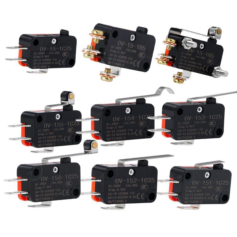 V-156-1C25 V-155-1C25 V-154-1C25 V-153-1C25 Micro-Switches