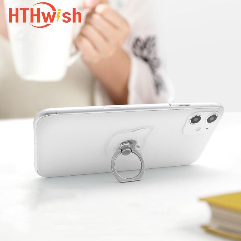 Suporte do telefone do dedo do smartphone do apoio do HTHWish para 7 / 6P / X Titulares móveis dos montagens da célula do hplofer