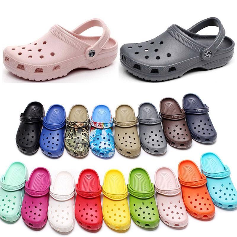 캐주얼 해변 오염 방수 신발에 여자 패션 슬립 여성 클래식 간호 Clog 병원 여성 슬리퍼 의료 샌들 10