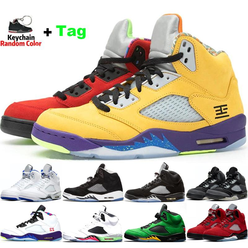 5s Hommes Basketball Chaussures Mens Jumpman Raging Bull Anthracite Stealth Stealth Alternate OG Black Métallique Feu métallique Red White Ciment Sports de sport en plein air EUR 40-47
