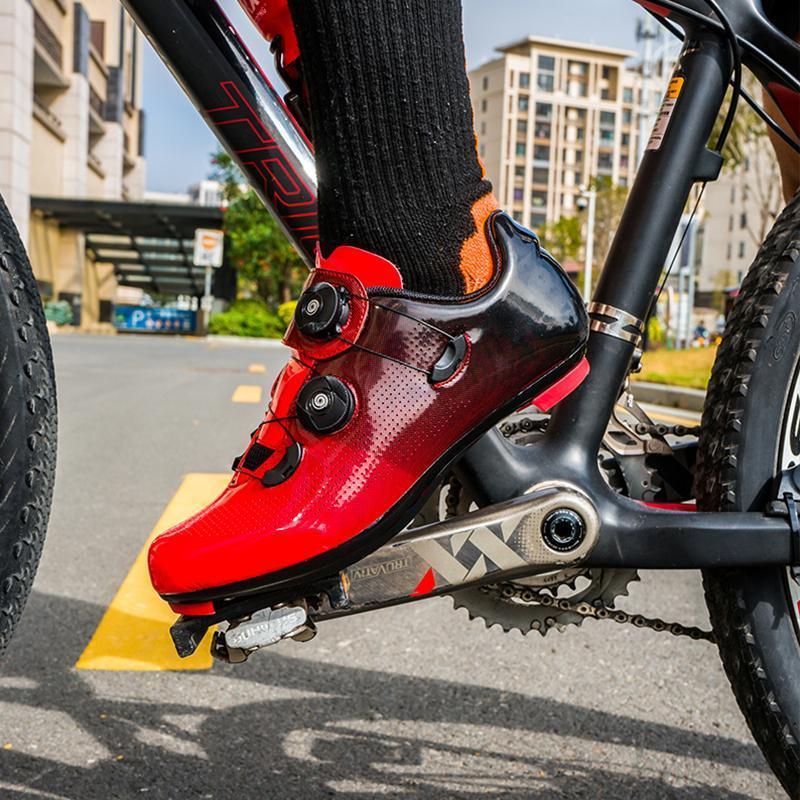 المهنية الذاتي قفل الأحذية الطريق دراجة sapatilha ciclismo الرجال النساء في الرياضة رياضة رياضة الدراجات معدات الأحذية