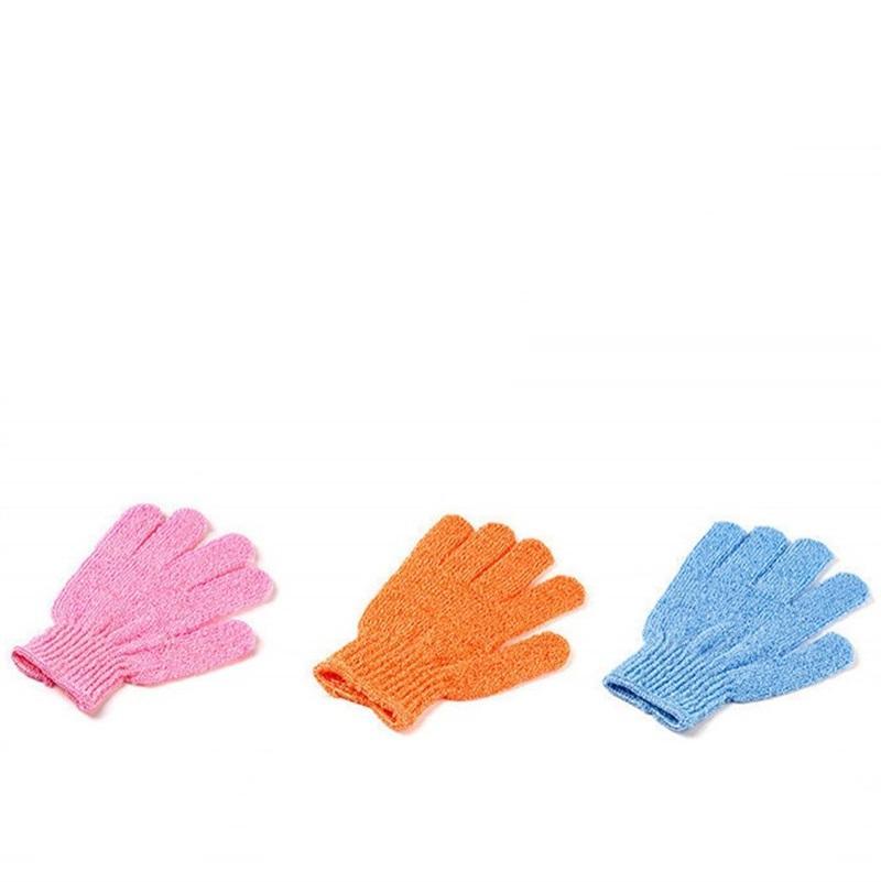 Esfoliante bath bath Glove Body Scrubber Guanto Guanti da doccia in nylon Guanti Body Spa Massage Massaggio Pelle Dead Pelle Remover 551 R2