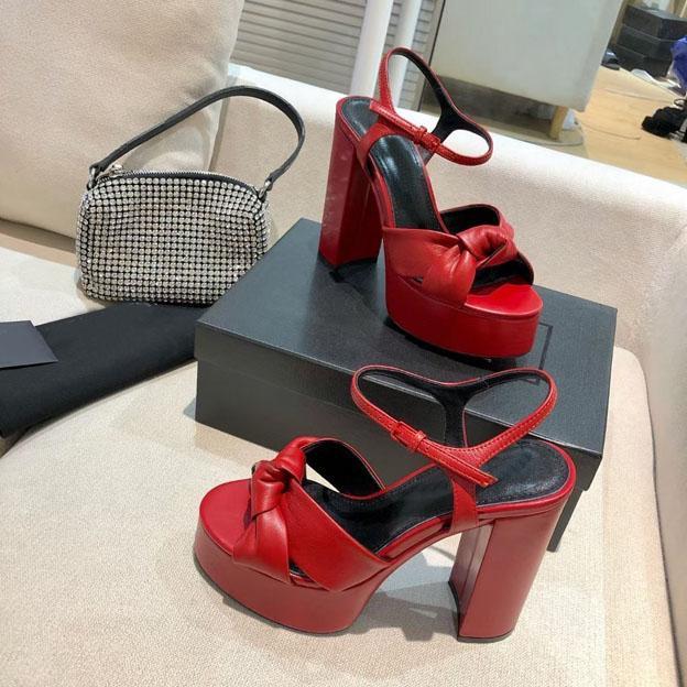 Sandali classici ad alto arco da donna in metallo in metallo party 12.5cm tacco tacco real cinghia tavolo sexy acqua 4 cm 35-41