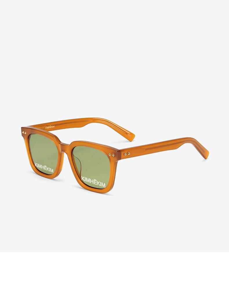 Gleiche Kimhekim Mode Die Nietsonnenbrille