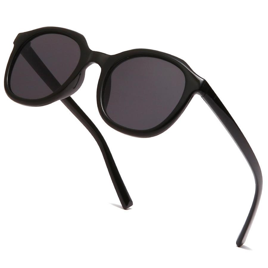 Gafas de sol pequeñas con marco redondo Viseras de sol coreanas anti ultravioleta 8ATL