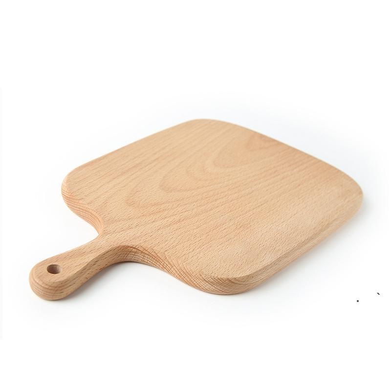 Ev Doğrama Blok Mutfak Kayın Kesme Tahtası Kek Plaka Servis Tepsileri Ahşap Ekmek Çanak Meyve Tabağı Suşi Tepsi Pişirme Aracı EWB6766