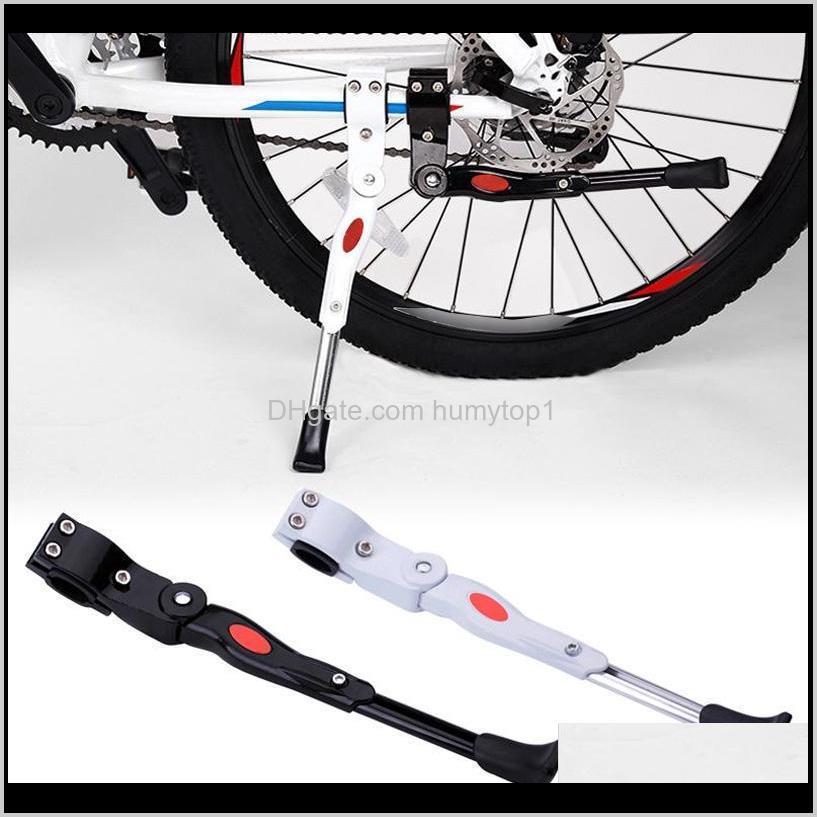 أقفال قابل للتعديل MTB الطريق دراجة مسنده وقوف السيارات الرف الدراجة الجبلية دعم الجانب ركلة حامل هدفين ركوب الدراجات أجزاء WS42 XXIRA KGHEA