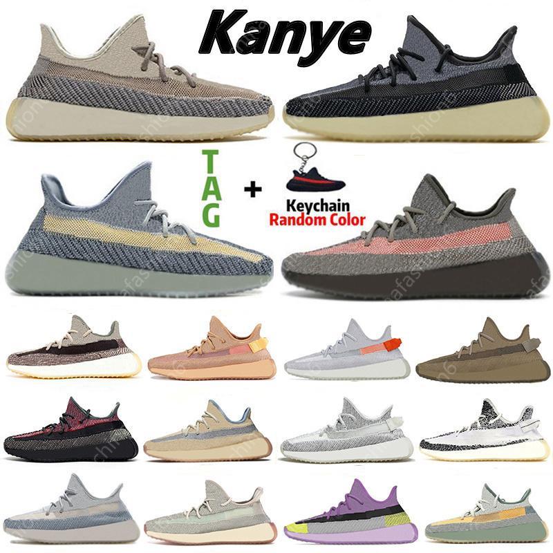 Kanye Erkek Koşu Ayakkabıları Asriel Israfil Kilitli Dünya Cid Kil Zebra Yekeil Statik Kadın Spor Eğitmenleri Sneakers