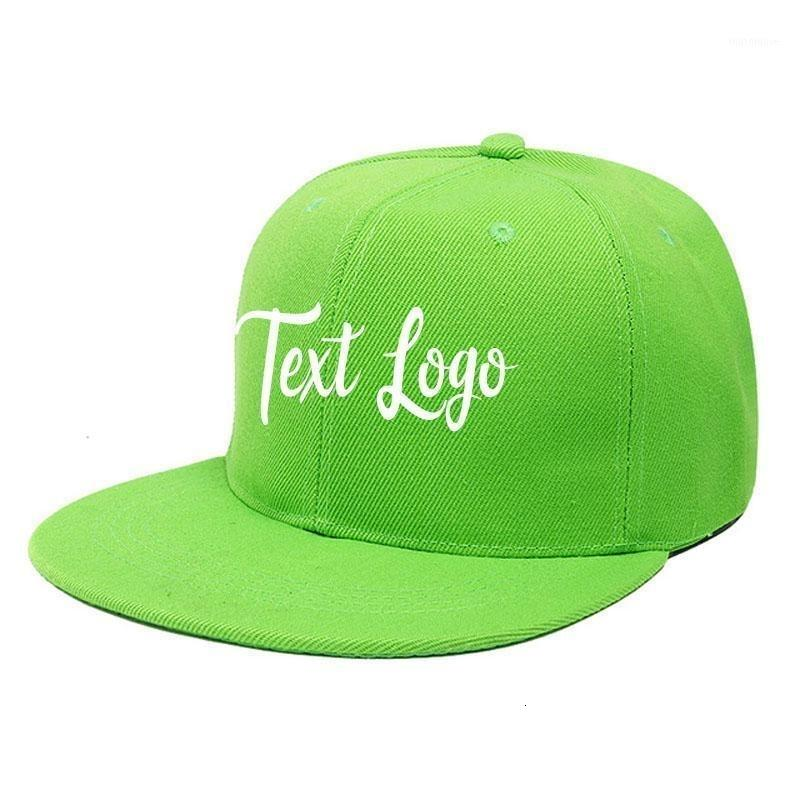 Ricamo personalizzato Uomo Donna Hip Hop Caps You Name Lettera Number Snapback Cap Fashion Street Dance Hat1