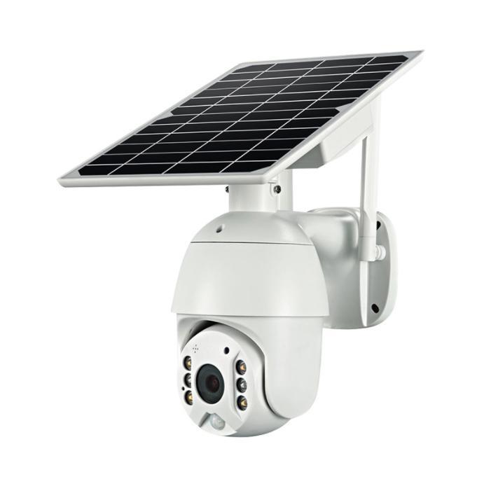 Wi-Fi câmera solar 1080p nuvem sem fio IP câmera shell sola hd ao ar livre wi-fi de vigilância de segurança à prova d 'água ao ar livre