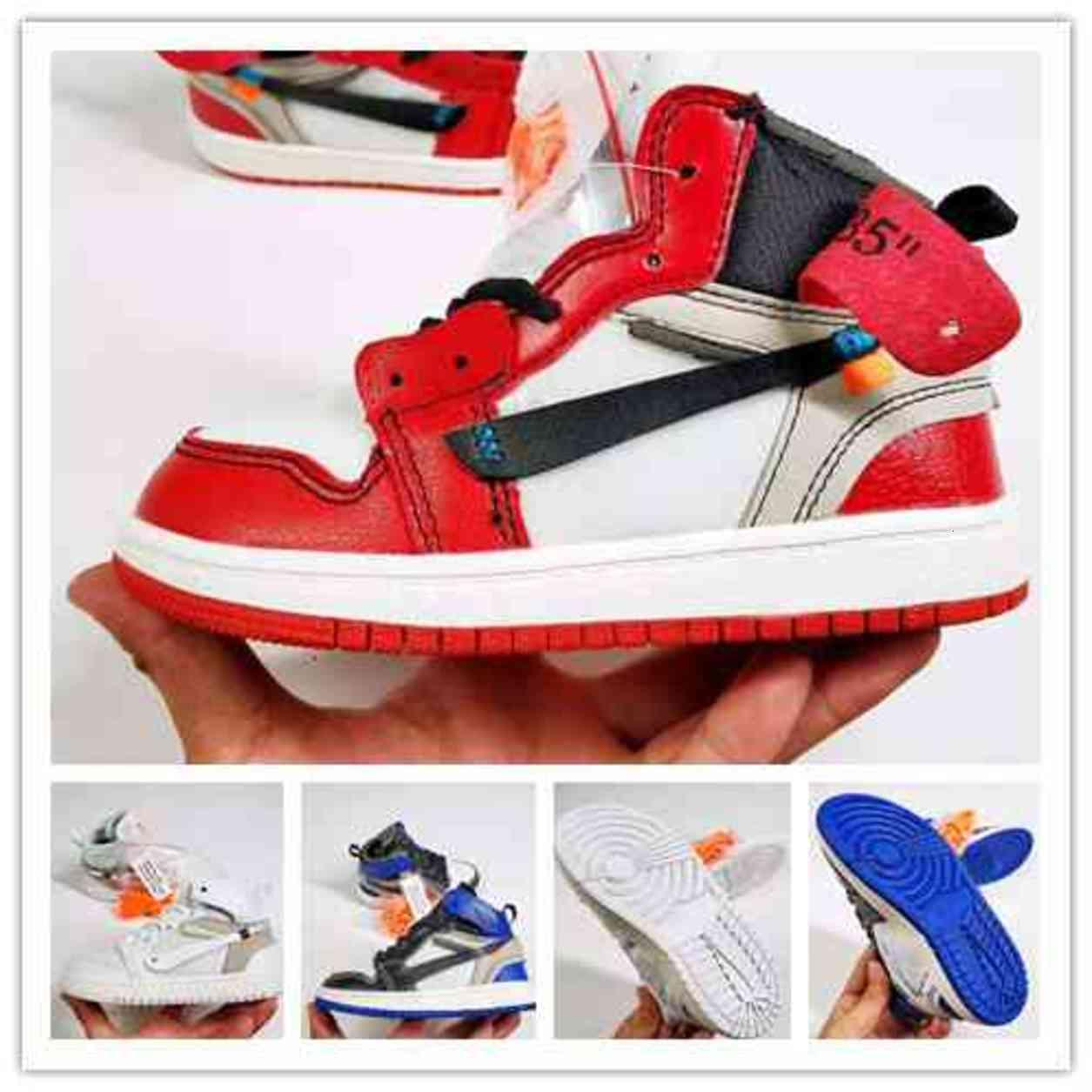 Signé conjointement High og 1s Kids Shoes Chicago 1 bébé Bébé Baby Girl Girl Youth Sneaker Towdlers Né Baskers Childrenwear