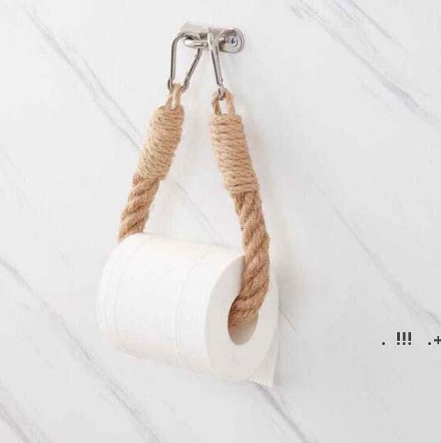 Scaffali della carta igienica Scaffali per i servizi igienici Asciugamano vintage Asciugamano Hanging Tishue Tissue Home Hotel Hotel Decorazione del bagno Forniture EWA5142