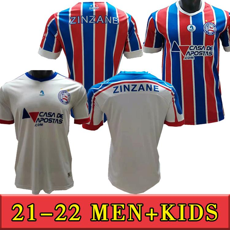 2021 2022 Esporte Clube Bahia الصفحة الرئيسية الفانيلة قمصان كرة القدم Clayson Jadson Soccer The Rodriguinho Daniel Camisa الكبار + كيت