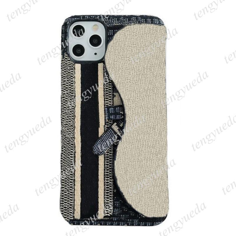 iPhone 13 12 11 Pro Max XS XR XSmax 7 8 Plus 전화 케이스 최고 품질 디럭스 패션 가죽 카드 홀더 손목 밴드 디자이너 핸드폰 커버