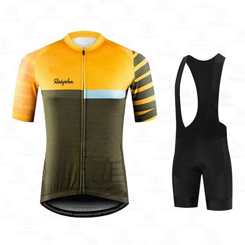 레이싱 세트 사이클링 저지 프로 팀 Gobikeful Ropa Ciclismo Hombre 여름 짧은 소매 유니폼 의류 Triathlon Bib 반바지 세트