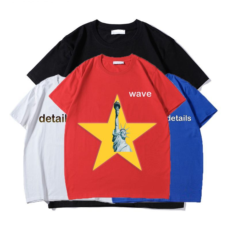 Hommes S Femmes Designer T Shirts Courte mode d'été Casual avec la marque Lettre Broderie Designers de haute qualité Vêtements