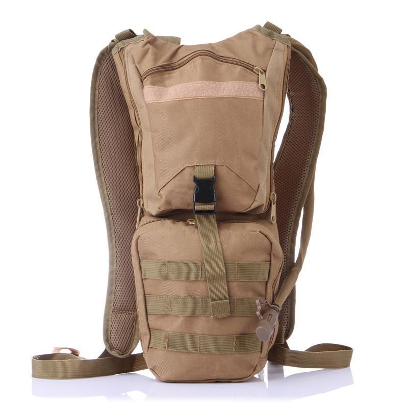 Sac à dos sportif de camouflage en plein air 3L sac eau hydratation ackpack militaire tactique tactique léger randonnée de randonnée de randonnée