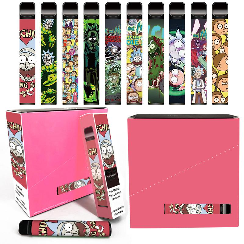 Disposable Vape Pen Rk plus Starter Kit 800Puffs 3.2ml Cartridge Pre-fiilled Pod Vs puff plus flex xxl hyppe DHL free