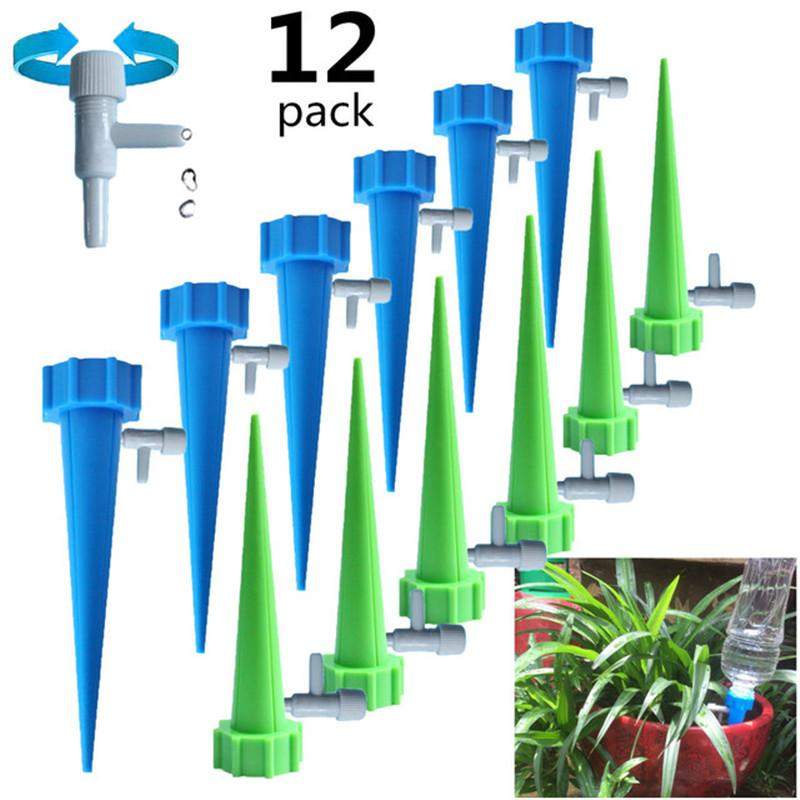 Otomatik Damla Sulama Sulama Ekipmanları Damlama Spike Kitleri Bahçe Ev Bitki Çiçek Otomatik Saçılı Çiçekler için Otomatik Waterer Araçları Sulama Sistemi