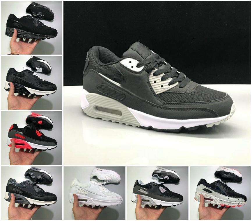 2021 Новые 90-е годы Спортивные Обувь Дешевые 90 Мужчины Женщины Черный Белый Инфракрасный Розарт Королевский Денхам Открытый Кроссовки Классические Дизайнеры Обувь Беговые Тренеры