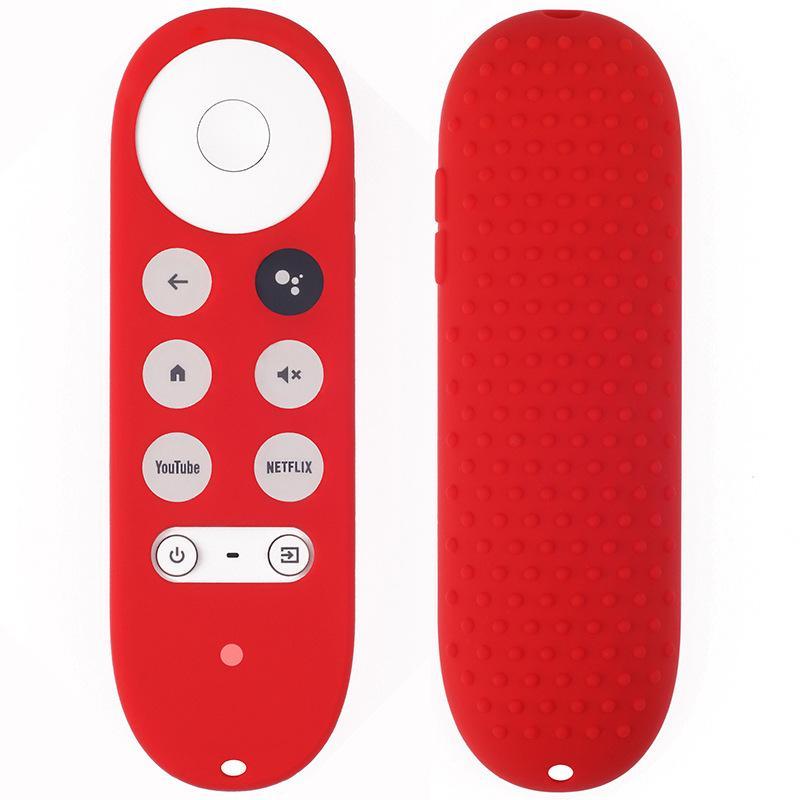 حالة سيليكون ل Chromecast ل -جوجودي TV 2020 غطاء حامي صدمات صدمات صدمات لمدة 2020 كروماست صوت بعيد