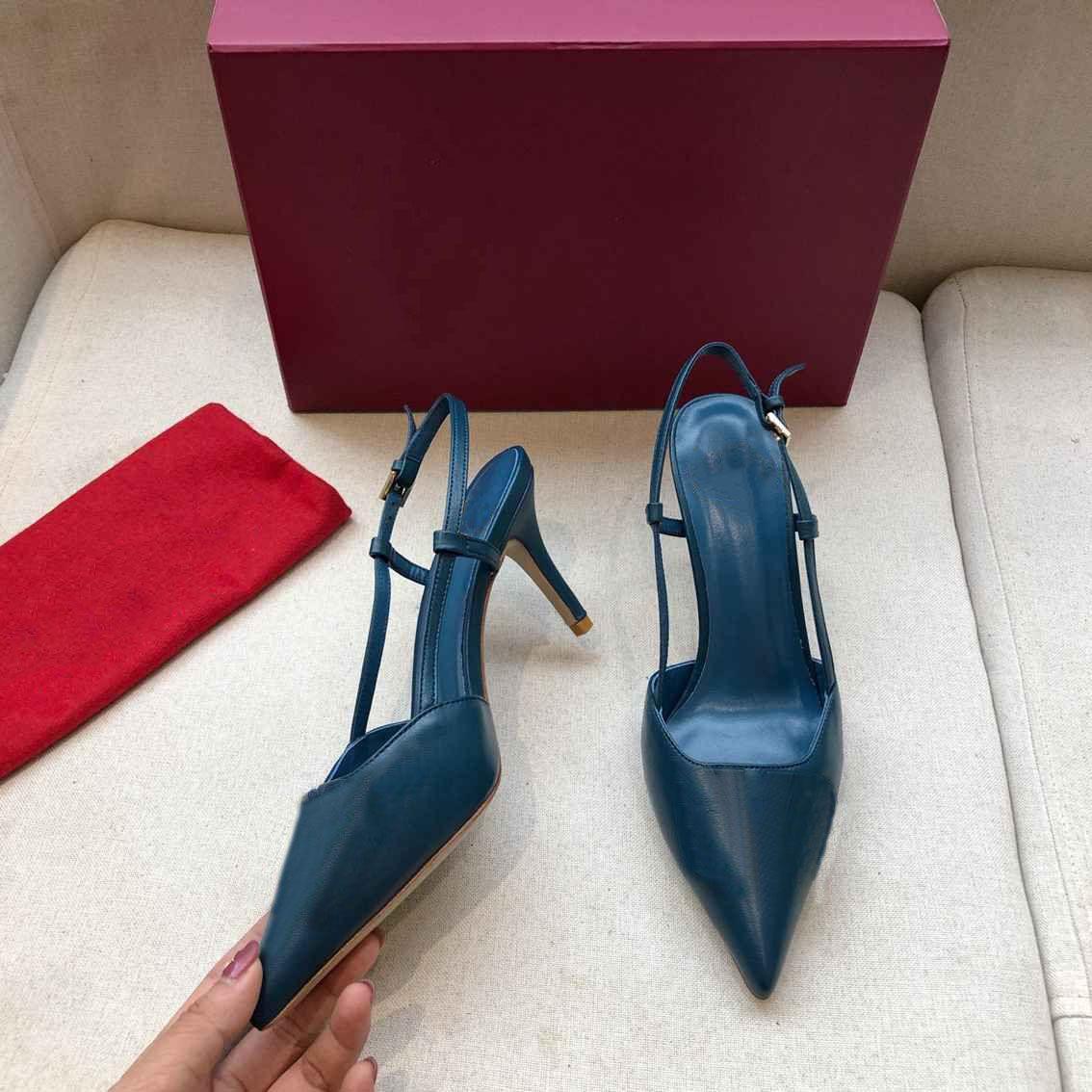 2021 Yeni Moda Konforlu Mizaç Kadın Yüksek Topuklu Parti Sandalet Artı Boyutu 34 - 40 41 42 Gümüş Ayakkabı Yüksek Topuklu