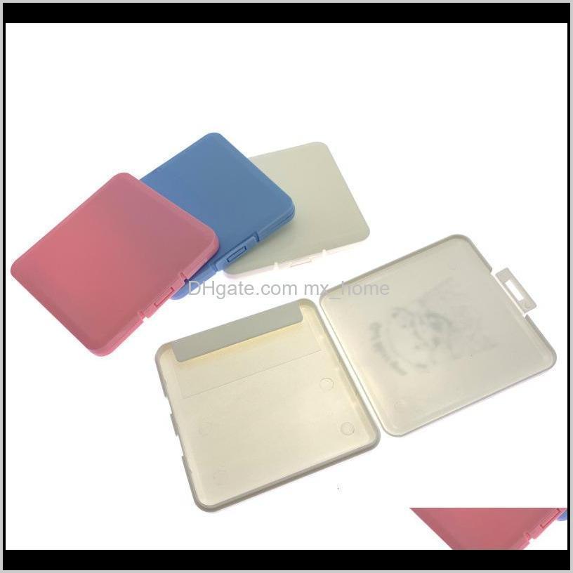 Boxes Bins Портативный пылезащитный щит влагоповерхустойчивый одноразовый Крышка для лица Организатор Держатель Маска для хранения CCA12423 5G5LH BJWXL