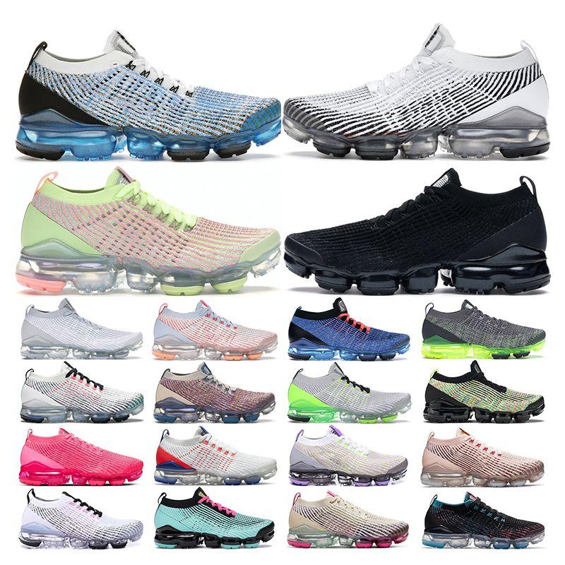 vapormax plus 3.0 plus  tênis para homens triplo preto branco rosa vinho mulheres sports sneakers formadores respirável moda vintage tamanho 36-44