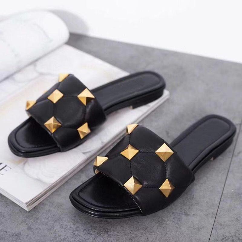 40% Rabatt Rabatt neu Kommen Mode Ace Designer Hausschuhe Marke für Frauen im Sommer Drop Ship Beste Fabrik Online-Verkauf Original Box Ni OK IESHOE