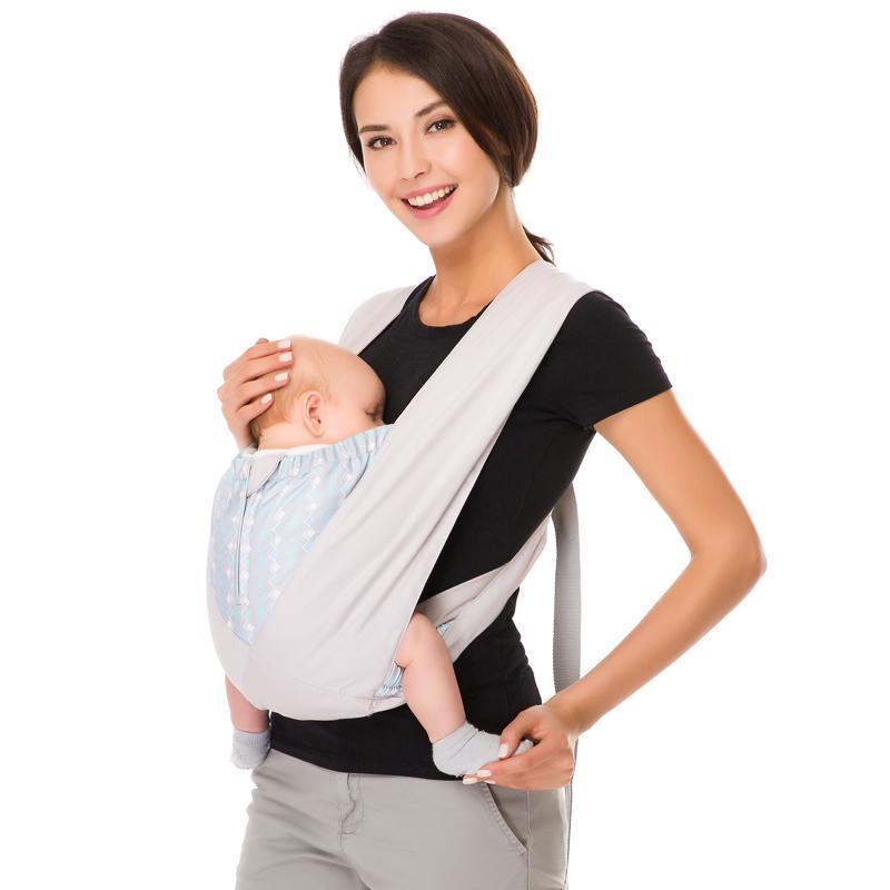 Tela portadora de bebé para porteo Ergonómico 100% algodón bebés que llevan portadores de la mochila delantera Carriers nacidos, eslingas Mochilas