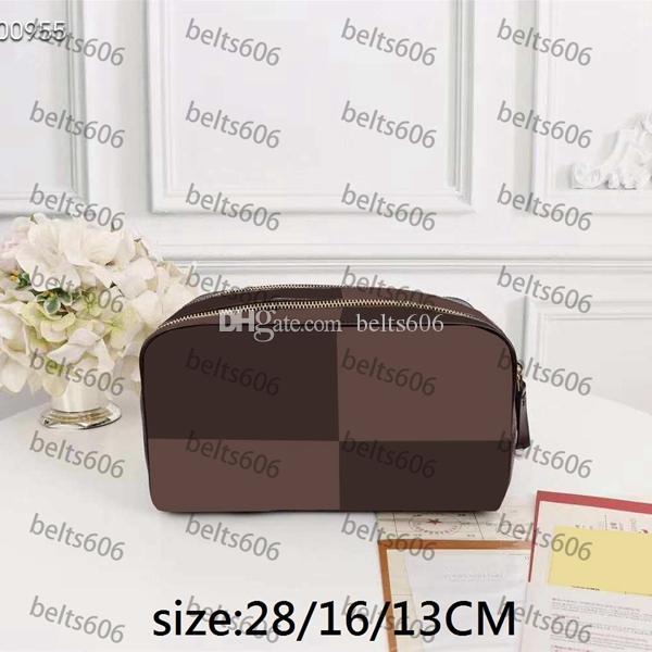 حقيبة مستحضرات التجميل أكياس ماكياج المرأة بالجملة الكلاسيكية الأزياء إلكتروني الصيف 2021 hotsale أسود سعة كبيرة الرجعية نمط متعدد الحجم السيدات الزينة الملونة