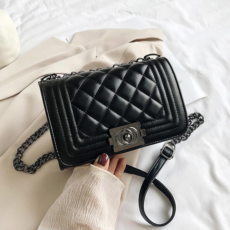 2021 summer new classic advanced granny fragrance fashion One Shoulder Messenger Bag