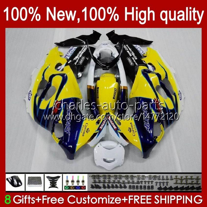 Corpo per Suzuki Katana GSX600F GSXF600 GSXF750 GSXF600 GSXF750 GSXF 600 750 cc 98 99 00 01 02 29No.16 600CC 750CC GSX750F GSXF-600 GSX750F GSXF-600 GSXF-750 1998 1999 2000 2001 2002 carenatura giallo nero