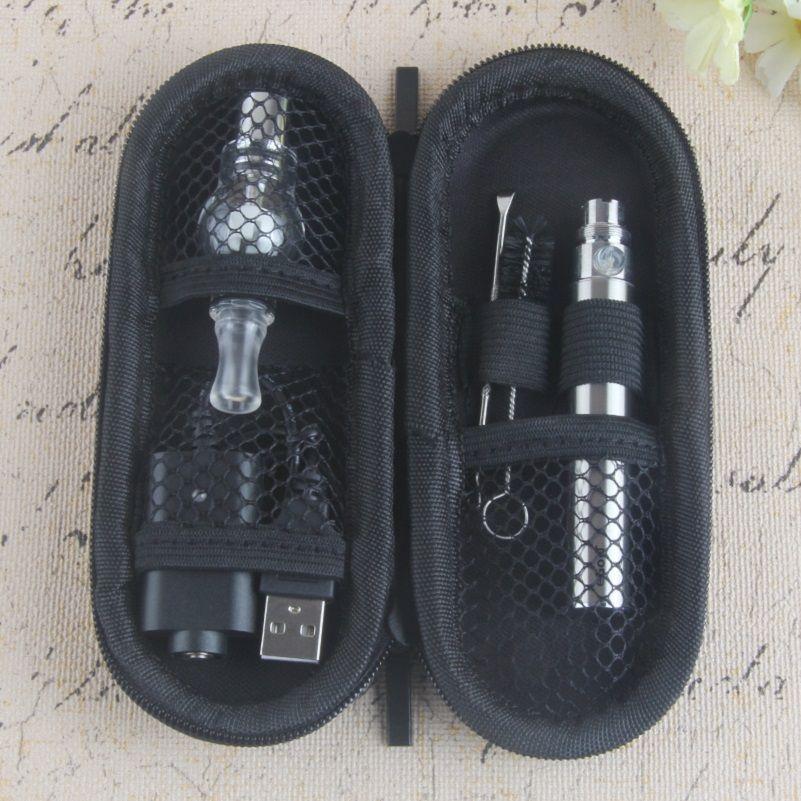 Hot Ego-t Starter Kit Ecigs Globo Globo Vaporizador Lâmpada Atomizador Cera De Cera De Vaporizadores De Vaporizadores Com 1100mAh Ego T Vape Pen Kits